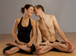 No one in my couples' yoga class looked like this. Photo: ashtangacharlottesville.com